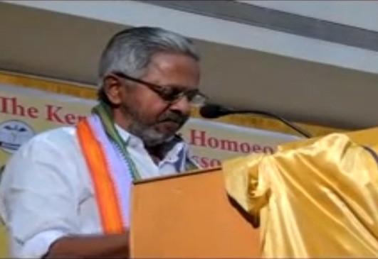 Congress MP N Peethambara Kurup