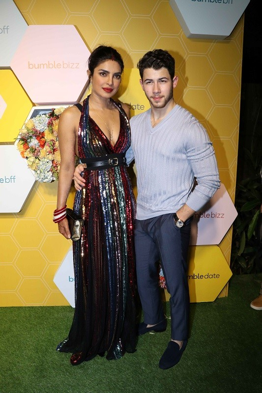 Bumble App,Bumble BFF,Tinder,Priyanka Chopra,Priyanka Chopra Nick Jonas,Priyanka Chopra nick jonas wedding,newly married,Nick Jonas wedding,Nick Jonas