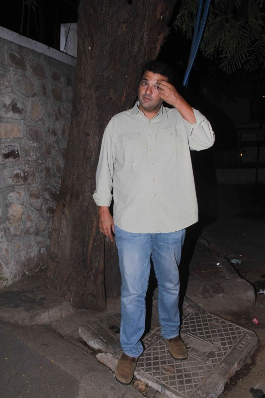 Siddharth Roy Kapoor spotted at Bandra