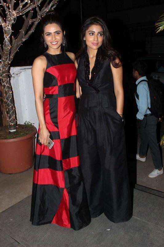 Madhurima Tuli,Shriya Saran,Shriya Saran,Fashion Designer Rajat Tangri's Studio,Rajat Tangri,Fashion Designer Rajat Tangri