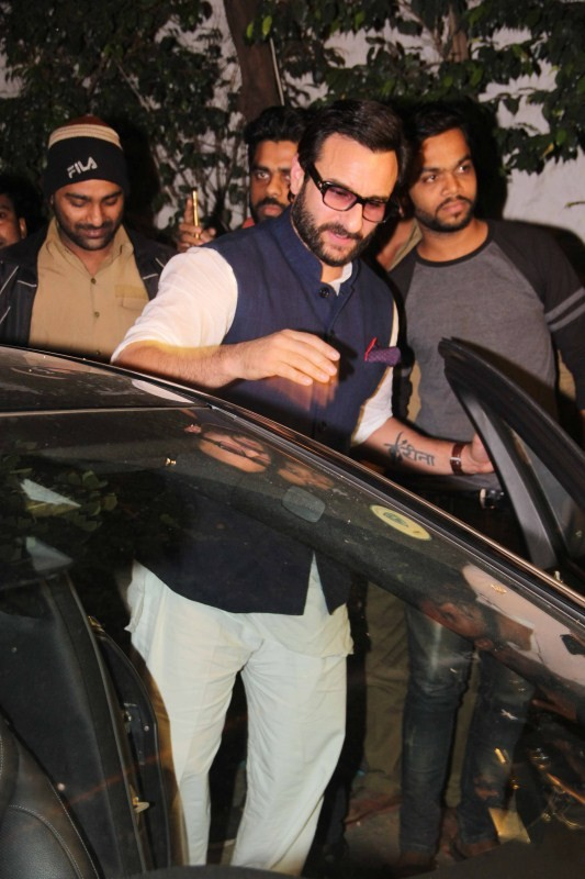 Saif Ali Khan,Kareena Kapoor,Dia Mirza,Saif Ali Khan and Kareena Kapoor,Kareena Kapoor Khan,Saif Ali Khan and Kareena Kapoor at Bandra