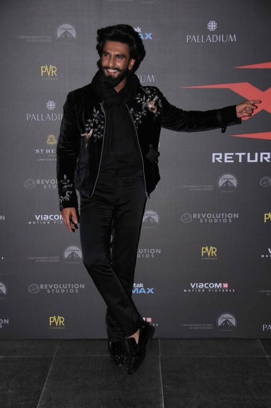 XXX: Return of Xander Cage,XXX: Return of Xander Cage special screening,Vin Diesel,Shahid Kapoor,Ranveer Singh,Urvashi Rautela,Diana Penty,Richa Chadha,Kriti Sanon,Irrfan Khan,Neil Nitin Mukesh,Jackky Bhagnani,Neetu Chandra,Karan Johar