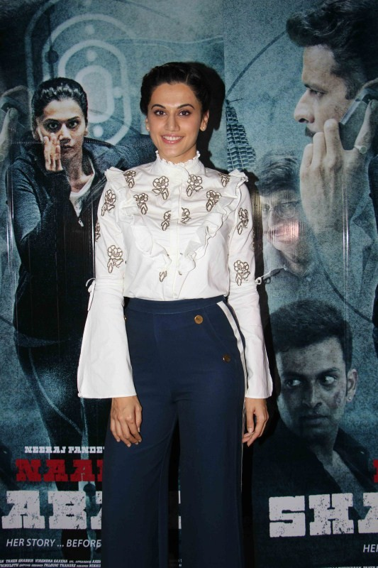 Taapsee Pannu,Zinda song,Zinda song launch,Taapsee Pannu launches Zinda song,Naam Shabana,Naam Shabana song launch,bollywood movie Naam Shabana,actress Taapsee Pannu,Taapsee Pannu latest pics,Taapsee Pannu latest images,Taapsee Pannu latest photos,Taapsee