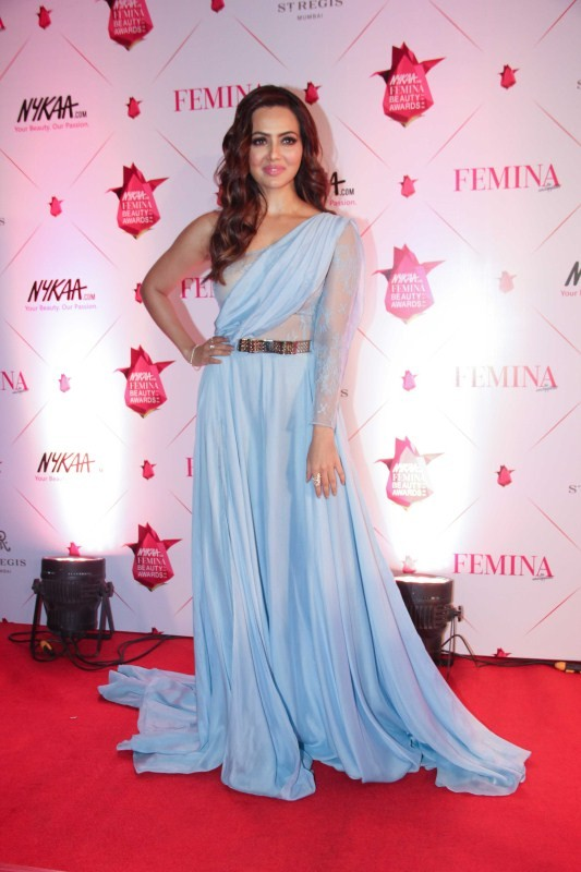 Shriya Saran,3rd Nykaa Femina Beauty Awards 2017,3rd Nykaa Femina Beauty Awards,Nykaa Femina Beauty Awards,Sana Khan