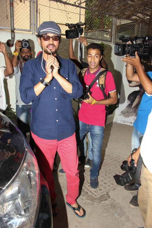Irrfan Khan,Irrfan Khan spotted at Sunny Super Sound,Irrfan Khan spotted at Sunny Super Sound studio,Irrfan Khan pics,Irrfan Khan images,Irrfan Khan stills,Irrfan Khan pictures,Irrfan Khan photos