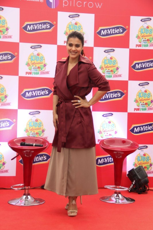 Kajol,actress Kajol,McVities Kids Culinarie,food festival,Kajol pics,Kajol images,Kajol stills,Kajol pictures,Kajol photos