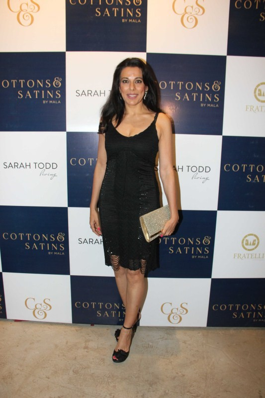 Cottons and Satins store,Launch of Cottons and Satins store,MasterChef Australia Sarah Todd,Pooja Bedi,Zayed Khan