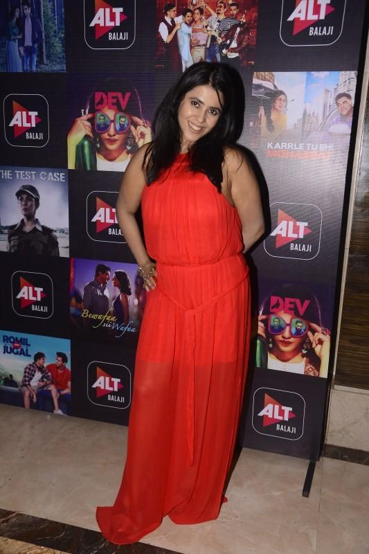 Ekta Kapoor,Riya Sen,Rahul Dev,Samir Soni,ALTBalaji,Celebrating the success of ALTBalaji