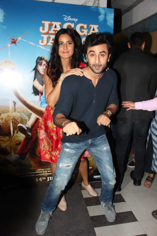 Ranbir Kapoor and Katrina Kaif,Ranbir Kapoor,Katrina Kaif,Jagga Jasoos,Jagga Jasoos trailer launch,Jagga Jasoos trailer launch pics,Jagga Jasoos trailer launch images,Jagga Jasoos trailer launch stills,Jagga Jasoos trailer launch pictures,Jagga Jasoos tra