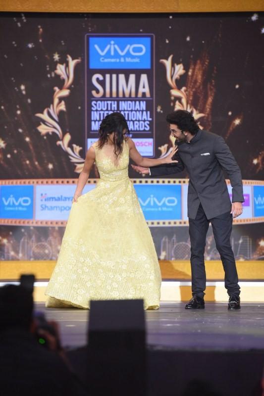 Ranbir Kapoor and Katrina Kaif,Ranbir Kapoor,Katrina Kaif,Jagga Jasoos,Jagga Jasoos pair Ranbir Kapoor and Katrina Kaif,Ranbir Kapoor at SIIMA 2017,Katrina Kaif at SIIMA 2017