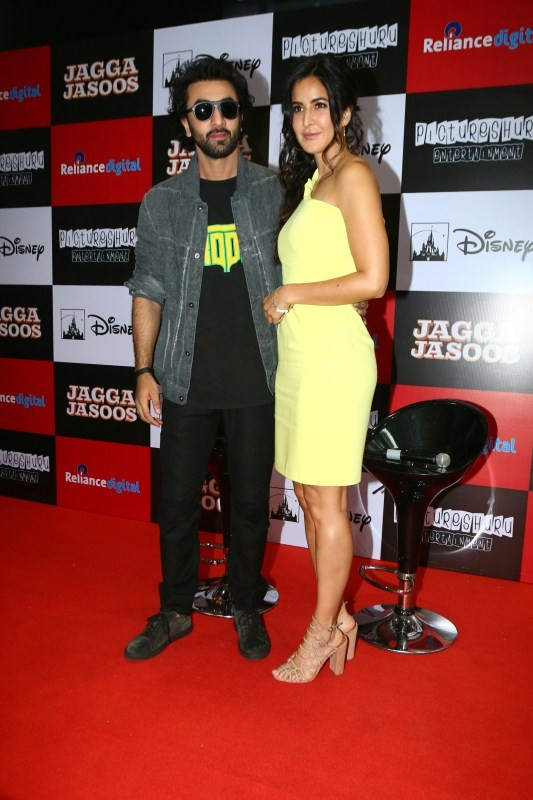 Ranbir Kapoor and Katrina Kaif,Ranbir Kapoor,Katrina Kaif,Jagga Jasoos,Jagga Jasoos promotion,Jagga Jasoos movie promotion,Jagga Jasoos promotion pics,Jagga Jasoos promotion images,Jagga Jasoos promotion stills,Jagga Jasoos promotion pictures,Jagga Jasoos