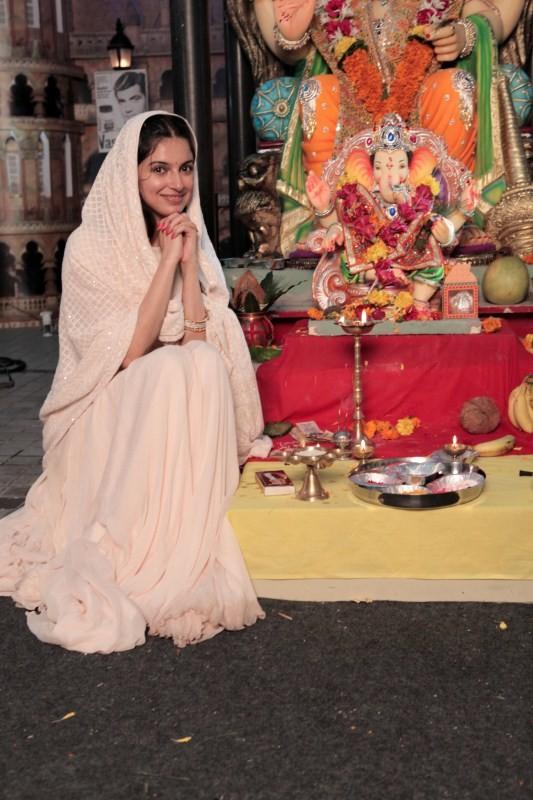 Divya Khosla Kumar,actress Divya Khosla Kumar,Divya Khosla Kumar celebrates Ganpati festival,Ganpati festival,Ganpati Bappa Morya
