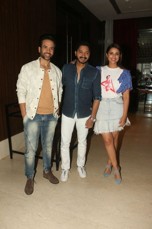 Ajay Devgn,Parineeti Chopra,Ajay Devgn and Parineeti Chopra,Golmaal Again,Golmaal Again promotion,Golmaal Again movie promotion