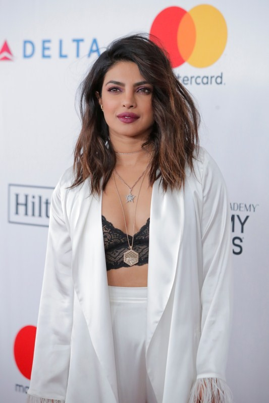Priyanka Chopra,Priyanka Chopra at Grammy,Priyanka Chopra at Pre-Grammy Gala,hot Priyanka Chopra,Priyanka Chopra hot pics,Priyanka Chopra hot images,Priyanka Chopra hot photos