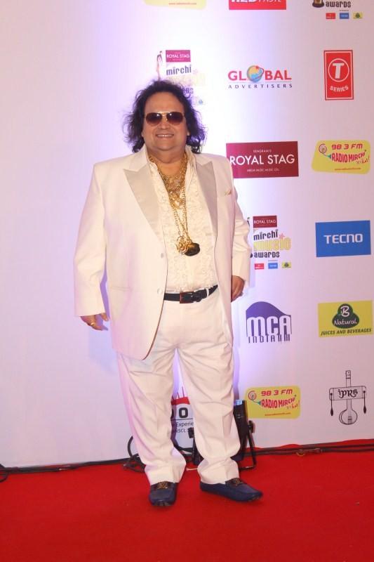 Singer Bappi Lahiri,Bappi Lahiri,Neetu Chandra,AR Rahman,Devi Sri Prasad,Imtiaz Ali,Arjan Bajwa,Divya Dutta,Mirchi Music Awards 2018,Mirchi Music Awards,celebs at Mirchi Music Awards