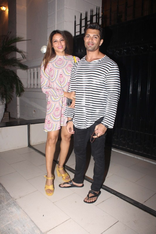 Bipasha Basu,Karan Singh Grover,Ekta Kapoor,Madhurima Tuli,Ekta Kapoor's Party,Ekta Kapoor Party,Ekta Kapoor Party pics,Ekta Kapoor Party images,Ekta Kapoor Party stills,Ekta Kapoor Party pictures,Ekta Kapoor Party photos