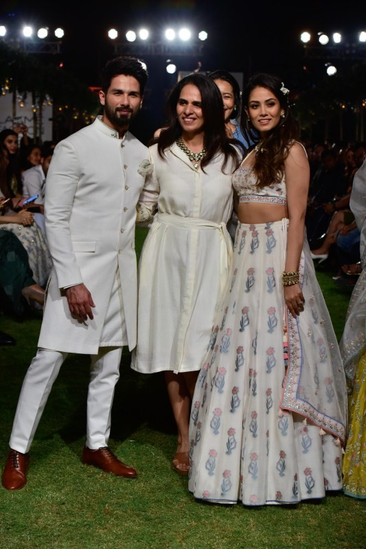Lakme Fashion Week 2018,Lakme Fashion Week,Shahid Kapoor and Mira Rajput,Shahid Kapoor,Mira Rajput,Anita Dongre,Lakme Fashion Week pics,Lakme Fashion Week images,Lakme Fashion Week stills,Lakme Fashion Week pictures,Lakme Fashion Week photos
