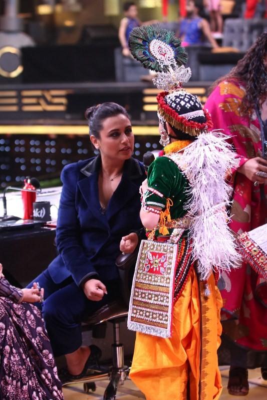 Hichki,Rani Mukerji,Shilpa Shetty,Super Dancer 2,Television,Hichki promotion,Hichki movie promotion,Shilpa Shetty and Rani Mukerji,Sridevi