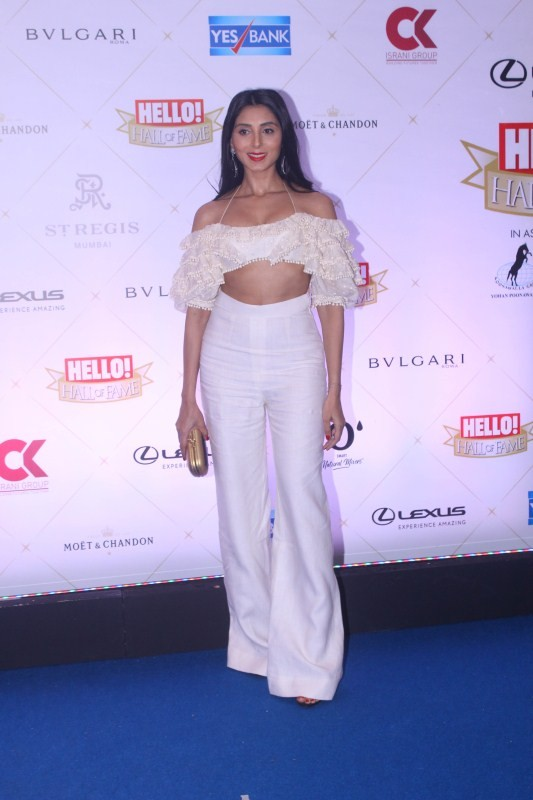 Adah Sharma,Iulia Vantur,Kartik Aaryan,Isabelle Kaif,Katrina Kaif's sister Isabelle Kaif,Hello Hall of Fame Awards 2018,celebs at Hello Hall of Fame Awards 2018
