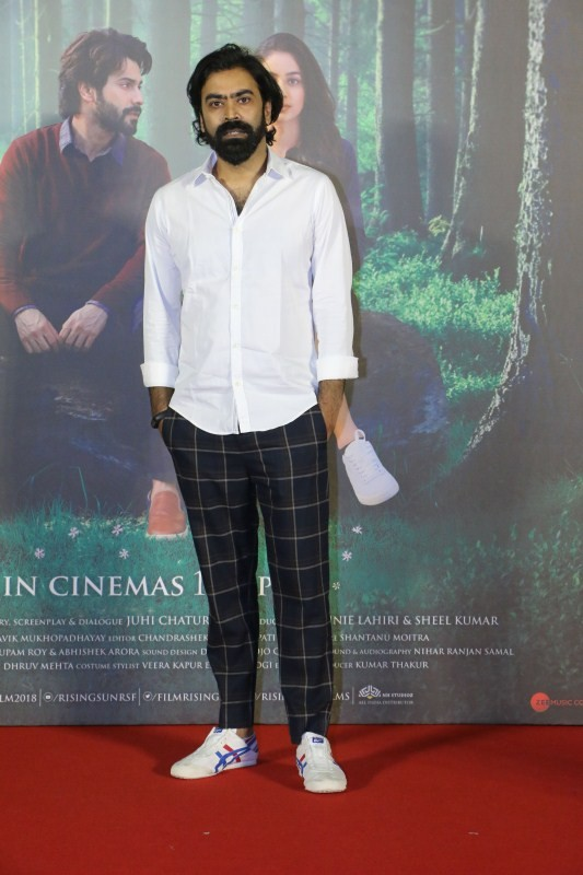 Varun Dhawan,Banita Sandhu,Shoojit Sircar,October trailer launch,October trailer,October,October trailer launch pics,October trailer launch images