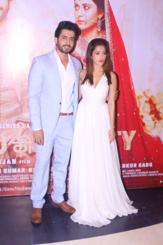 Kartik Aryan,Nushrat Bharucha,Huma Qureshi,Sana Khan,Sonu Ke Titu Ki Sweety success party,Sonu Ke Titu Ki Sweety,Sonu Ke Titu Ki Sweety success party pics,Sonu Ke Titu Ki Sweety success party images