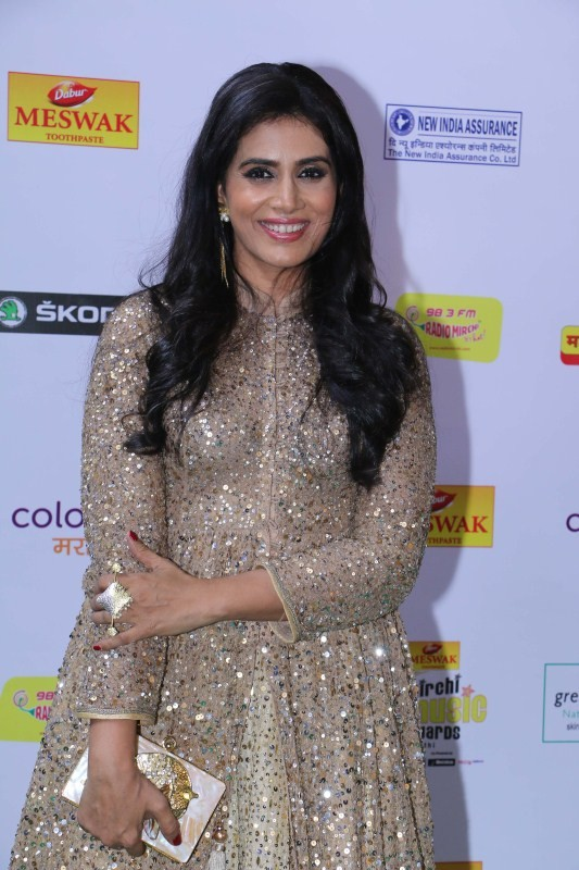 Ankita Lokhande,Sonali Kulkarni,Tejaswini Kolhapure,Mirchi Music Awards Marathi 2018,Mirchi Music Awards Marathi,Mirchi Music Awards Marathi pics,Mirchi Music Awards Marathi images