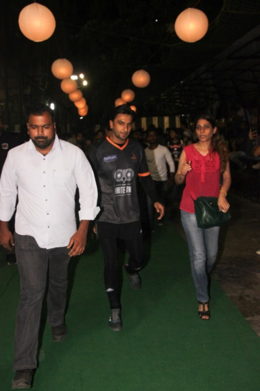 Ranbir Kapoor,Dino Morea,Siddhanth Kapoor,Ranbir Kapoor at football ground,Dino Morea at football ground,Siddhanth Kapoor at football ground,Celebs at football ground,Ranbir Kapoor and Dino Morea