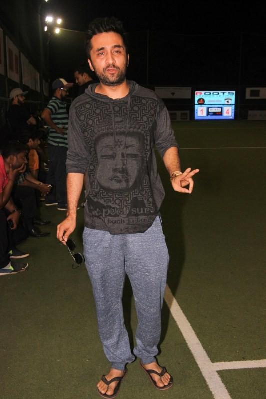 Ranbir Kapoor,Dino Morea,Siddhanth Kapoor,Ranbir Kapoor at football ground,Dino Morea at football ground,Siddhanth Kapoor at football ground,Celebs at football ground,Ranbir Kapoor and Dino Morea