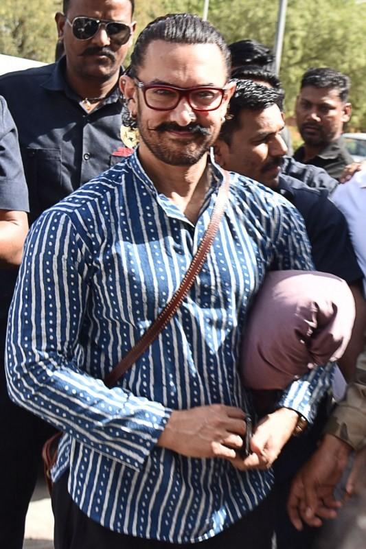 Fatima Sana Shaikh,Aamir Khan,Aamir Khan and Fatima Sana Shaikh,Thugs of Hindostan