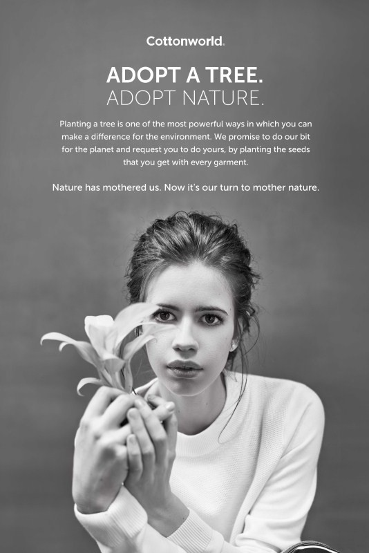 d0ed49b1331 Kalki was absolutely the first   only choice for the Cottonworld Winter  campaign because the brand loves the way stands up for what she believes in.