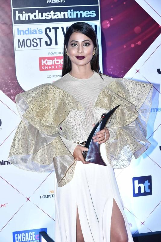 Parineeti Chopra,Kartik Aaryan,Imtiaz Ali,Hina Khan,Shibani Dandekar,Tisca Chopra,HT India's Most Stylish Awards 2018,celebs at HT India's Most Stylish Awards 2018