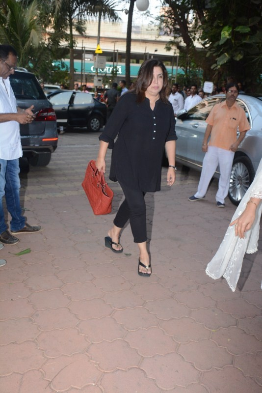 Kiran Rao,Farah Khan,Dimple Kapadia,Aruna Irani,Farida Jalal,Mukesh Rishi,Prem Chopra,Shammi prayer meet,Shammi prayer meet pics,Shammi prayer meet images,Shammi prayer meet pictures,Shammi prayer meet photos