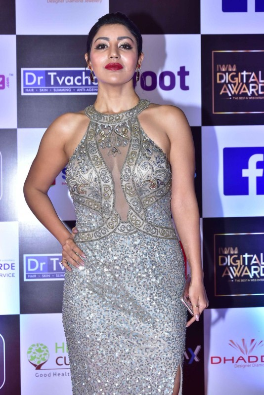 Karishma Sharma,Jackie Shroff,Tusshar Kapoor,Sana Khan,IWM Digital Awards 2018,celebs at IWM Digital Awards 2018,IWM Digital Awards 2018 pics,IWM Digital Awards 2018 images,IWM Digital Awards 2018 stills,IWM Digital Awards 2018 pictures