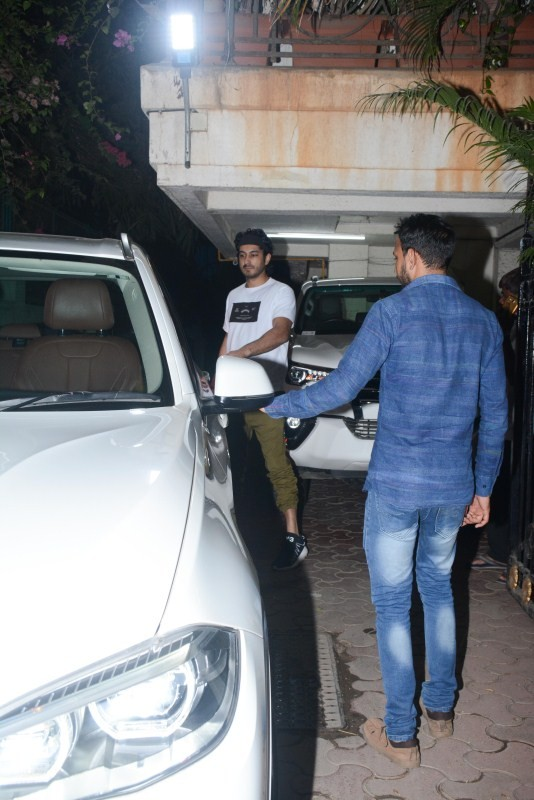 Boney Kapoor,Janhvi Kapoor,Khushi Kapoor,Mohit Marwah,Arjun Kapoor,Boney Kapoor with Janhvi Kapoor,Arjun Kapoor house