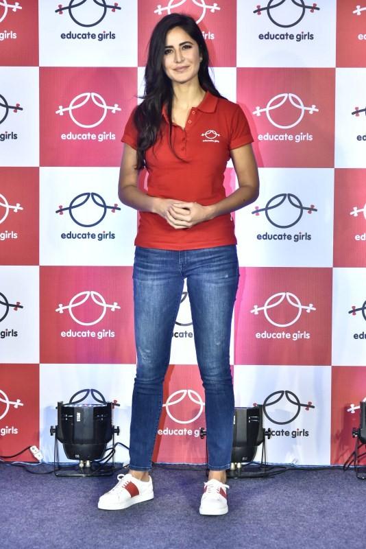 Katrina Kaif,actress Katrina Kaif,Katrina Kaif pics,Katrina Kaif images,Educate Girls,Katrina Kaif wallpaper
