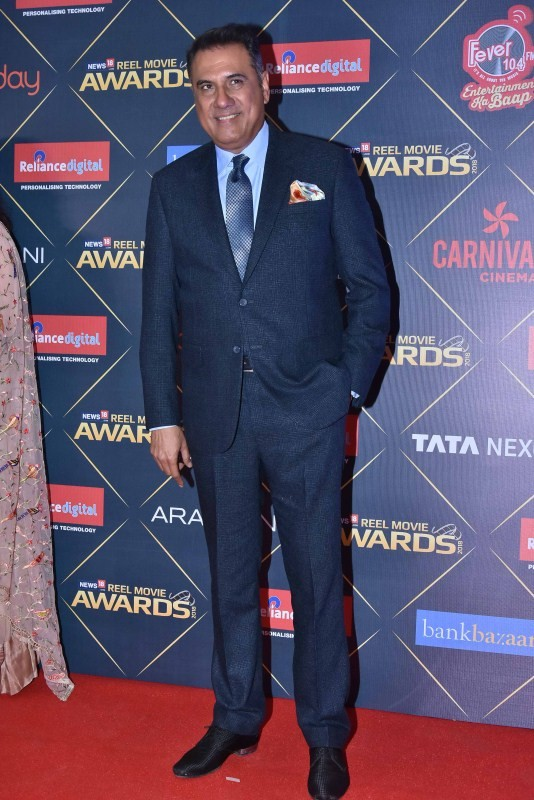 Boman Irani,Kubra Sait,Tillotama Shome,Amit Sadh,Satyajeet Dubey,Sonali Kulkarni,News18 REEL Movie Awards 2018,celebs at News18 REEL Movie Awards 2018