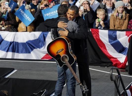 President Obama, Bruce Springsteen