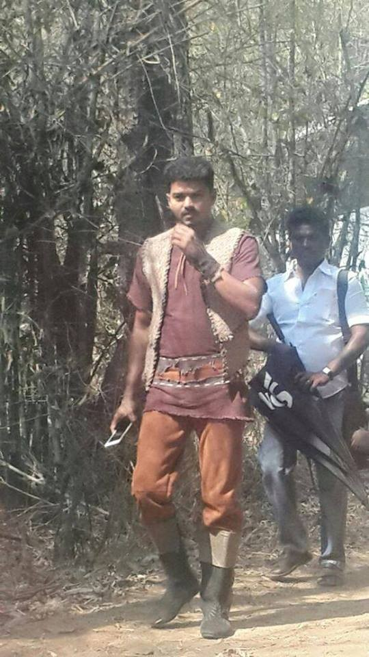 Puli,tamil movie Puli,Puli movie stills,Puli movie pics,Vijay,Shruti Haasan,Hansika Motwani,Sridevi,Sudeep,kicha Sudeep,tamil movie stills,tamil movie pics
