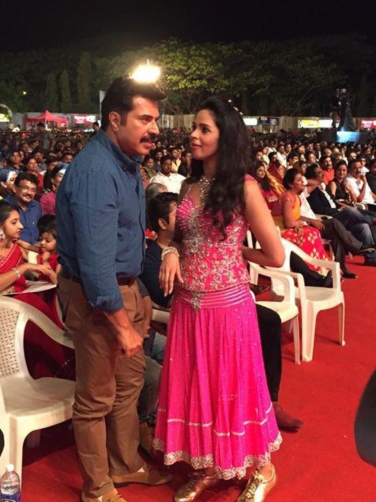Mallika Sherwat with Mammootty