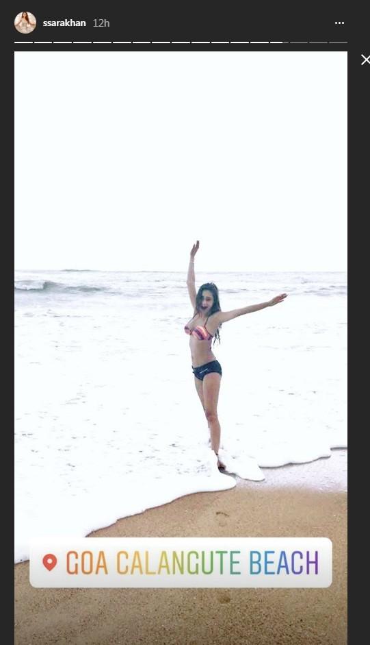Sara Khan in bikini