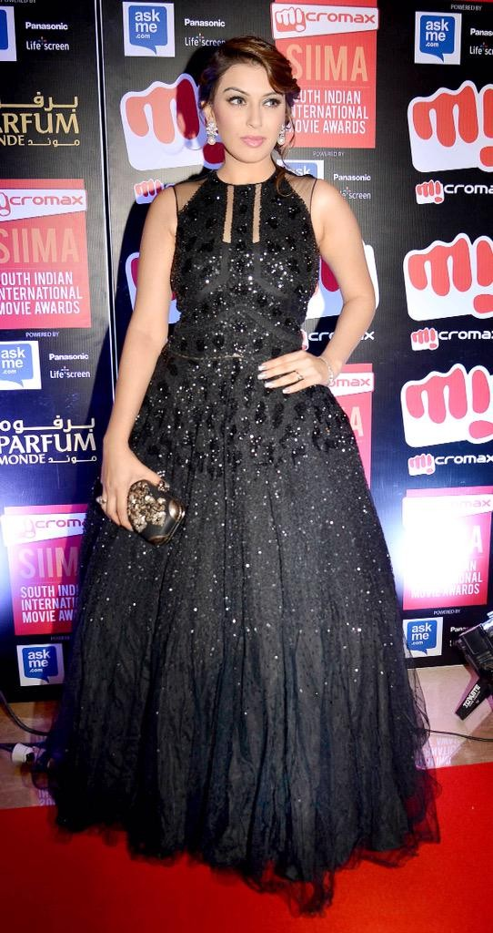 Hansika,hansika motwani,hansika motwani at siima awards,hansika motwani at siima awards 2015