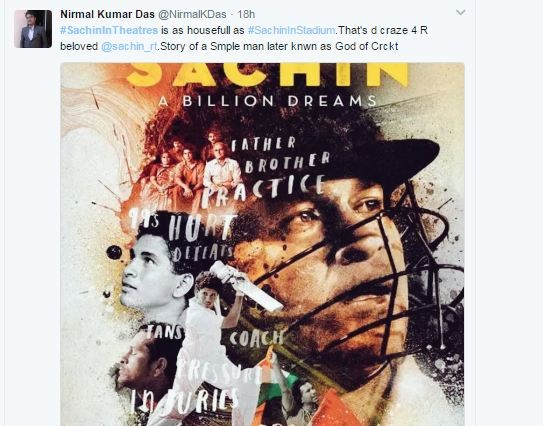 Sachin: A Billion Dreams,Sachin: A Billion Dreams movie,Fans are going gaga over Sachin: A Billion Dreams,Sachin,Sachin Tendulkar