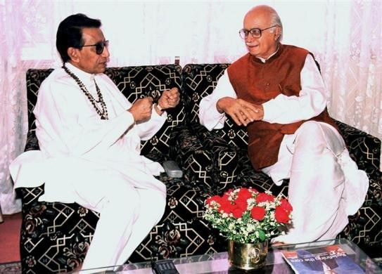 Bal Thackeray, L.K.Advani
