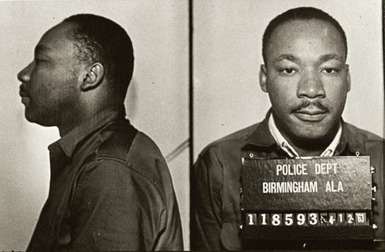 King was arrested during 1963 Birmingham campaign,from the jail their the