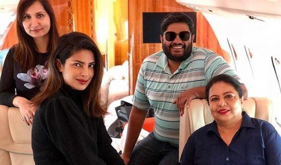 Priyanka Chopra Jonas private jet