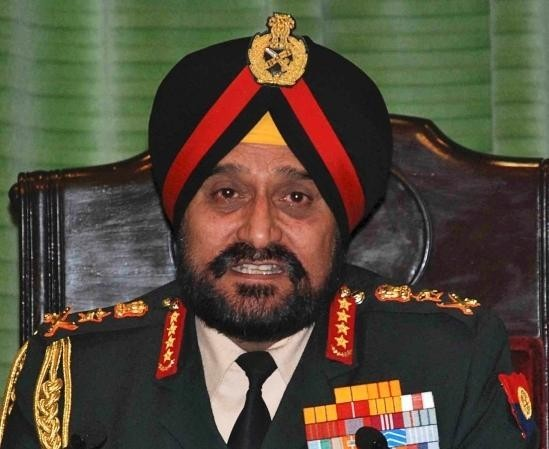 Bikram Singh Commands to fight fire with fire