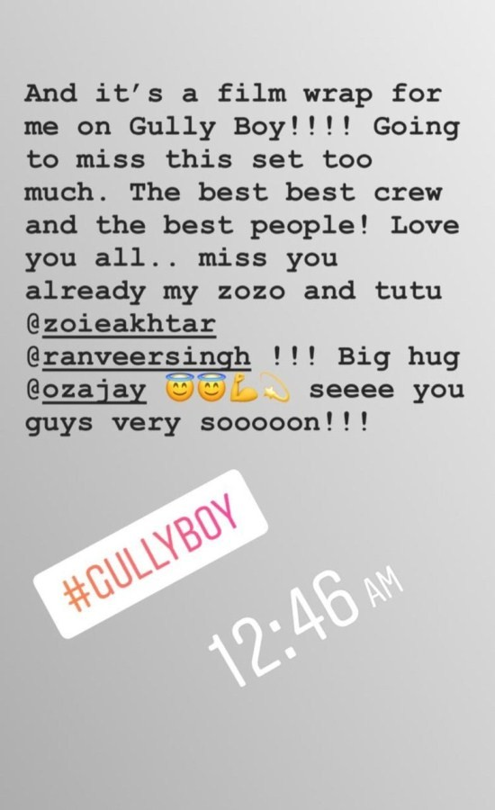 Zoya Akhtar,Alia Bhatt,actress Alia Bhatt,Gully Boy,Gully Boy on the sets,Gully Boy Alia Bhatt,Gully Boy star Alia Bhatt