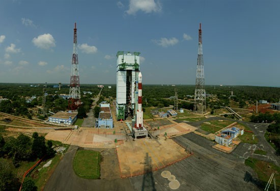 Panaromic view of PSLV C25