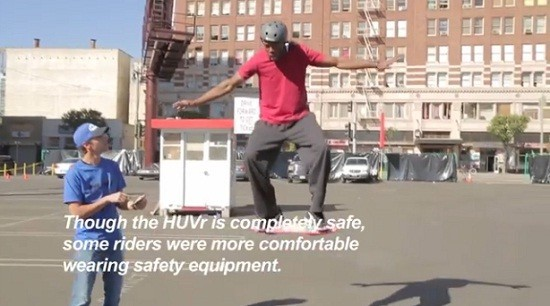 Hoverboard or the flying skateboard is a hoax