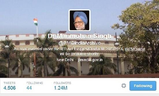 BJP Calls PMs Twitter Account National Asset, Criticizes Manmohan Singh's Staff